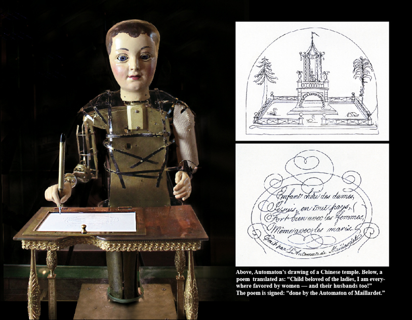crank and motor powered automata figures in the fourth dimension